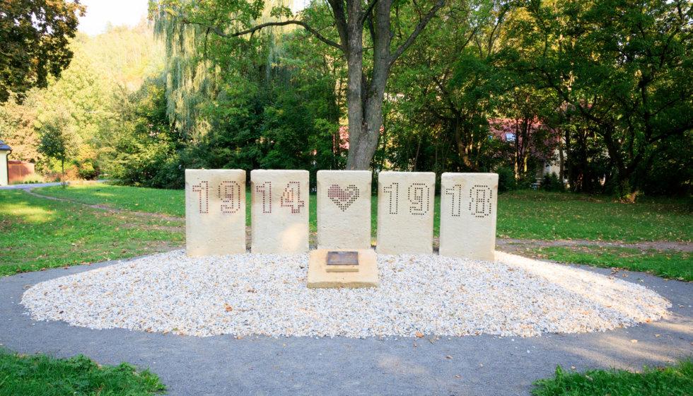 Obnovený památník padlým v první světové válce v Moravské Třebové, Foto: Adam Hecl