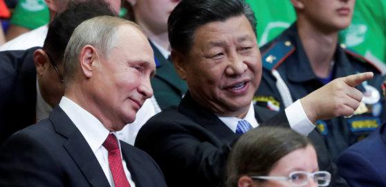 Rusko stojí oto, aby světový řád zmizel. Čína ho chce vylepšit, říká expert